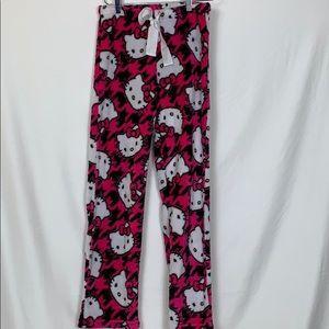 Hello Kitty pajama pants size sm(4-6)